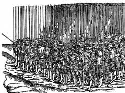 Ландскнехты, начало XVI века